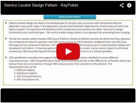 service locator pattern java exle java ee service locator design pattern keypoints