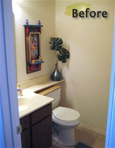 how to decorate a half bathroom modern bathroom mural