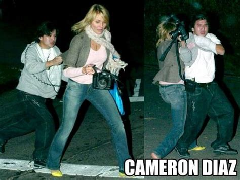Attacks The Paparazzi With Umbrella by Who Showed No Fear While Fighting The