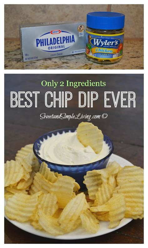 cream cheese dip the best chip dip ever sweet and