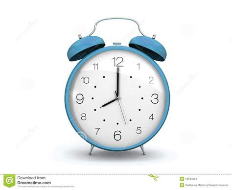white light alarm clock light blue alarm clock stock image image 19944061