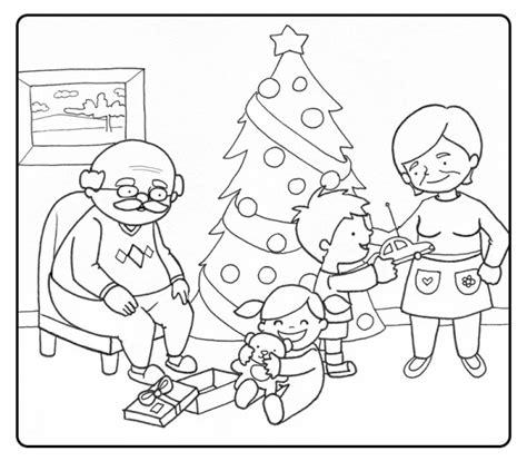 Imagenes Para Dibujar La Navidad | dibujos para pintar de familias en navidad colorear im 225 genes