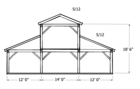 Monitor Style Barn Plans monitor style barn kit horse barn plans barn building