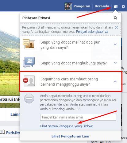 fb diblokir teman cara kembalikan teman facebook yang diblokir cara dan trik