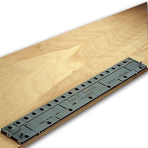 Shelf Pin Jigs by Shelf Pin Jigs 32 Template 32mm Line Boring Jig