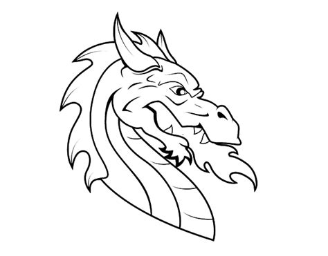 coloring pages of dragon heads chinese dragon head coloring pages