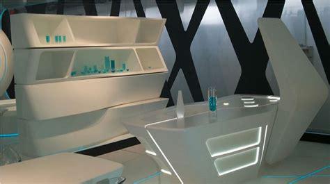 futuristic interior design restaurant futuristic