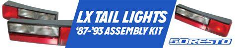 93 mustang lights fox lights 79 93 lmr