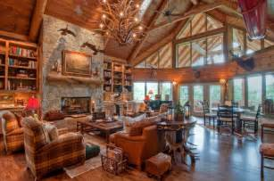 Rustic Home Interior Design Ideas I M A Lumberjack I M Okay Celebrating Log Cabin Day Terrys Fabrics S