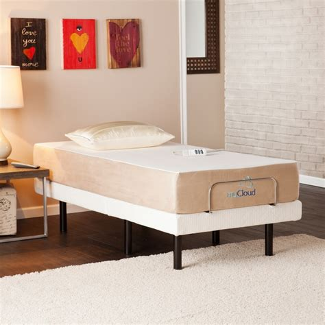 dimensions of twin xl bed mycloud adjustable bed twin xl size with 10 inch gel
