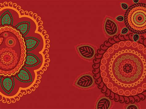 free indian pattern background fine pattern background vector free vector 4vector