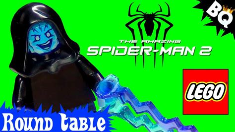 Lego Amazing Spider 2 Electro Misp custom lego electro from amazing spider 2 table
