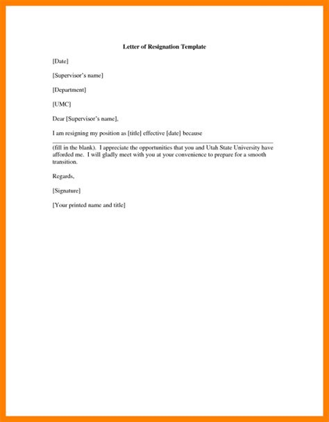 Resignation Letter Effective Immediately Sle by 11 Letter Of Resignation Exles Offecial Letter