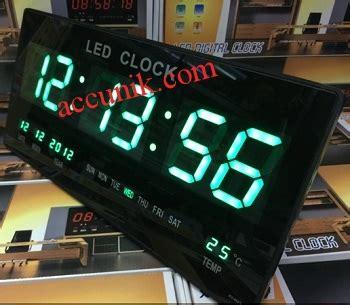 Harga Termurah Jam Dingding Digital Led Clock Merah Xy 3615 Jual Jam Dinding Digital Warna Hijau Digital Clock Led
