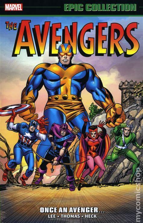 film epici comici avengers once an avenger tpb 2016 marvel epic collection