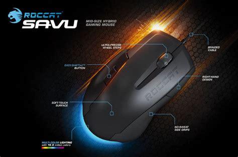 Dijamin Roccat Savu Mouse Gaming one mobile station geekalerts dead on annihilator