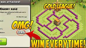 Defense coc th6 best war base layout defense strategy youtube