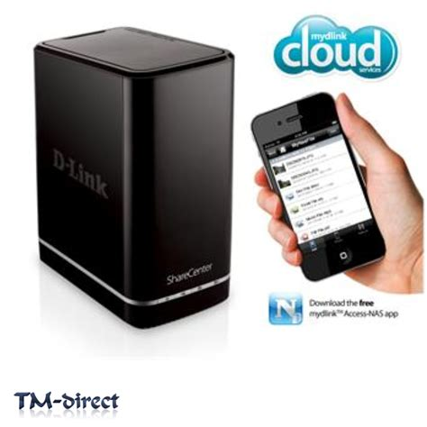 Nas Server d link dns 320l sharecenter 2 bay cloud network storage