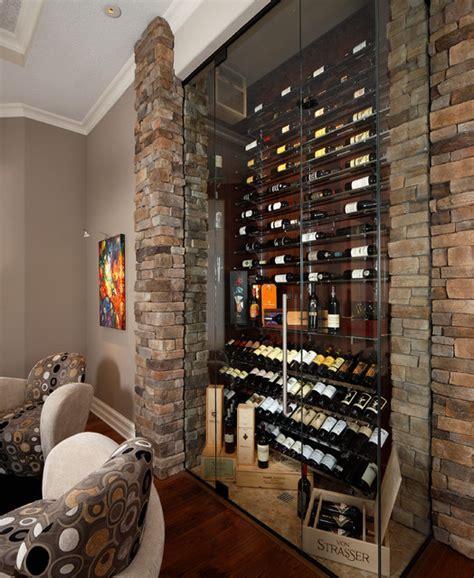 functional ideas  designing small wine cellar