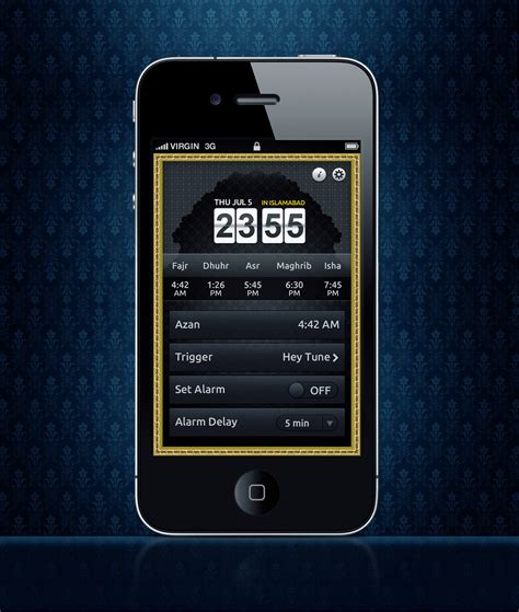 house design apps for iphone alarm app home screen design 4 iphone by awaisfarooq on