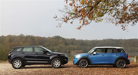 mini range rover black comparatif mini countryman land rover range rover evoque
