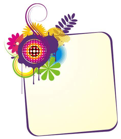 design banner cute cute banner vector template free vector frames design for
