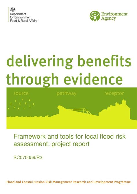 Mba Project Report On Lead Generation by Framework And Tools For Local Flood Risk Assessment