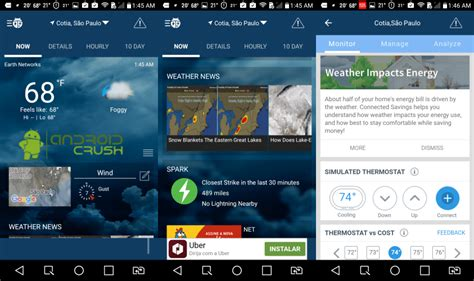 weatherbug for android best weather apps for android 2017 android crush