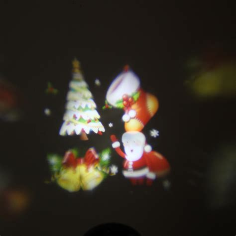 led laser xmas lights waterproof colorful santa claus pattern led christmas