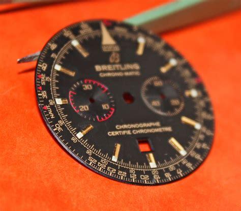 Rolex Black Matic breitling chrono matic black gold lume dots