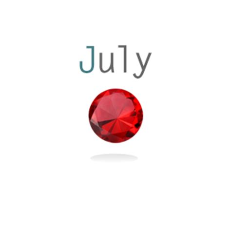 Ruby Birthstone Of July 2 by July Birthstone Ruby Glockets Glass Memory Lockets