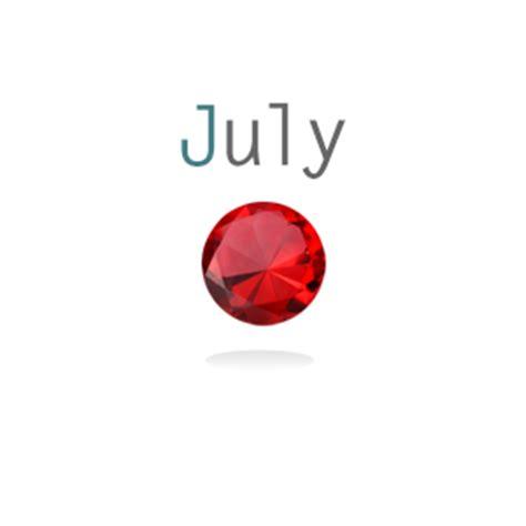 july birthstone ruby glockets glass memory lockets