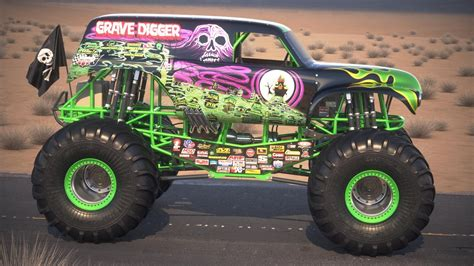 large grave digger monster truck monster trucks passion for off road adventure