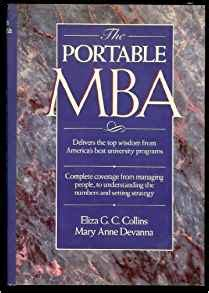 Portable Mba Series by The Portable Mba Portable Mba Series Eliza G C