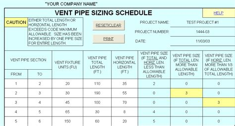 Plumbing Sizes by Hvac Design Solutions Plumbing Design