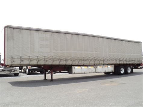 curtain side trailers utility curtain side trailer for sale 10150