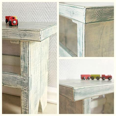 autentico chalk paint polska stołek rustykalny przecierka z antycznej bieli na