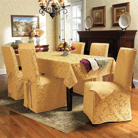 Dining Room Table Chair Covers | dining room table chair covers photo 1 design your home