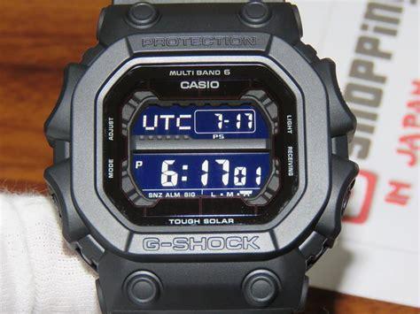 G Shock King Of G g shock the king stealth black series gxw 56bb 1jf with atomic radio