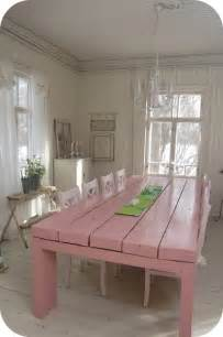 Pink Kitchen Table Get It In Pink Everything Pink A Gorgeous Large Pink Kitchen Table