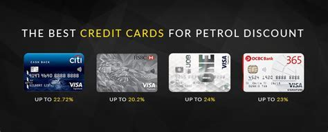 The best credit cards for petrol discounts