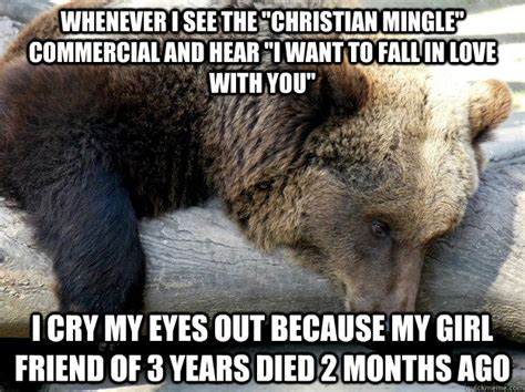 Christian Mingle Meme - whenever i see the quot christian mingle quot commercial and hear