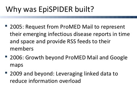 section 40 1 infectious disease 2009 epispider cdc gis day