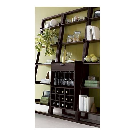 sloane leaning wine bar bookcase set 84 best images about wine decoration on pinterest diy