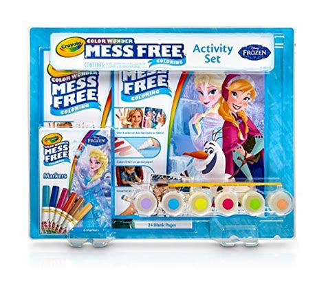 Frozen Crayola crayola frozen color mess free coloring activity
