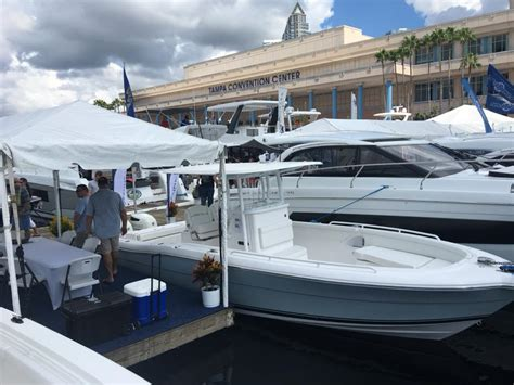 ta boat show at the convention center stamas yacht posts facebook