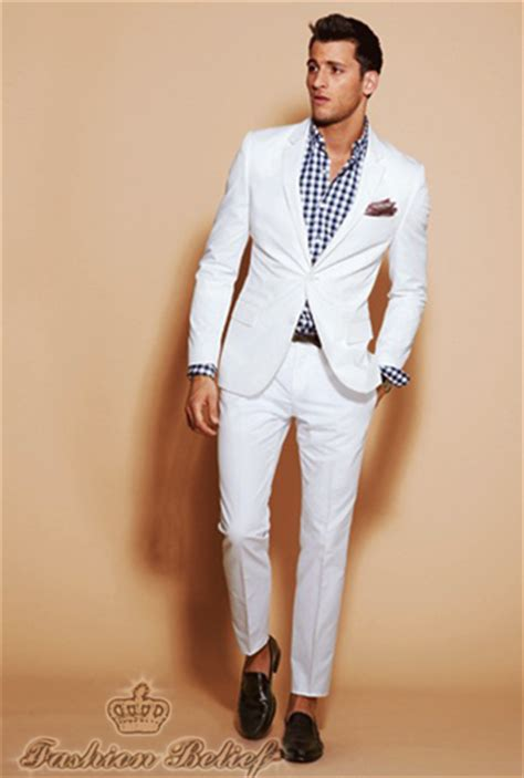 how to wear a white suit for your wedding brides wedding suit ideas fashion belief