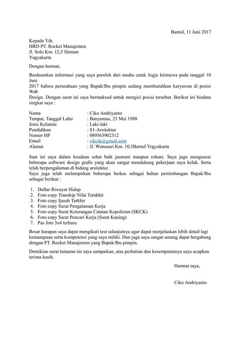 cara membuat resume job street best ideas of cara membuat resume lamaran kerja charming