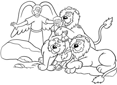 coloring page daniel in lions den daniel and the lions den coloring page daniel coloring