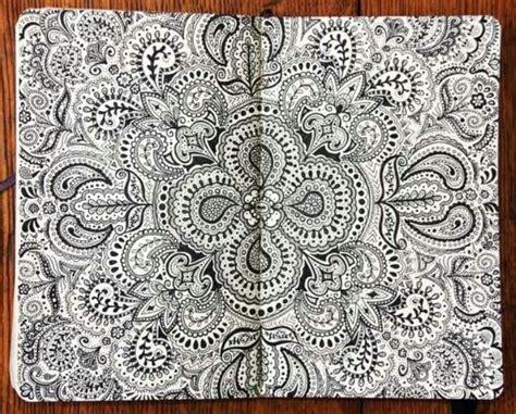 sketchbook zentangle doodle sketch draw patterns zentangles